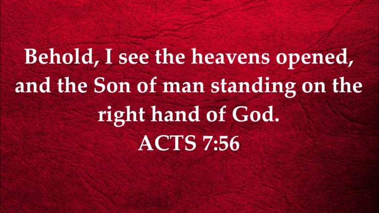 Acts 7.56