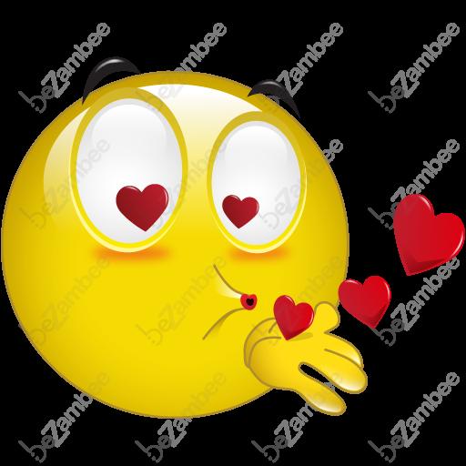 emoji kisses