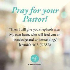 Praying For Pastor